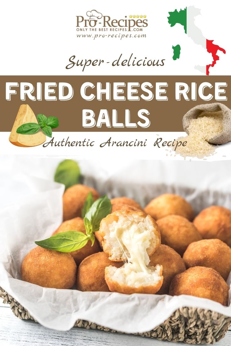 Delicious Fried Cheese Rice Balls Recipe - Arancini