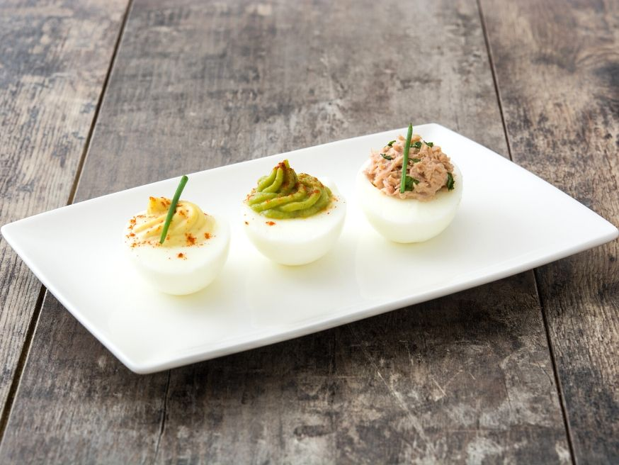 Deviled eggs recipDeviled Eggs Sailing Boats Appetizer Recipee
