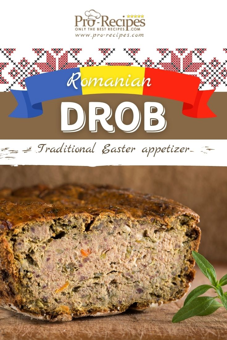 Drob Recipe Traditional Romanian Easter Appetizer - Pro-Recipes.com