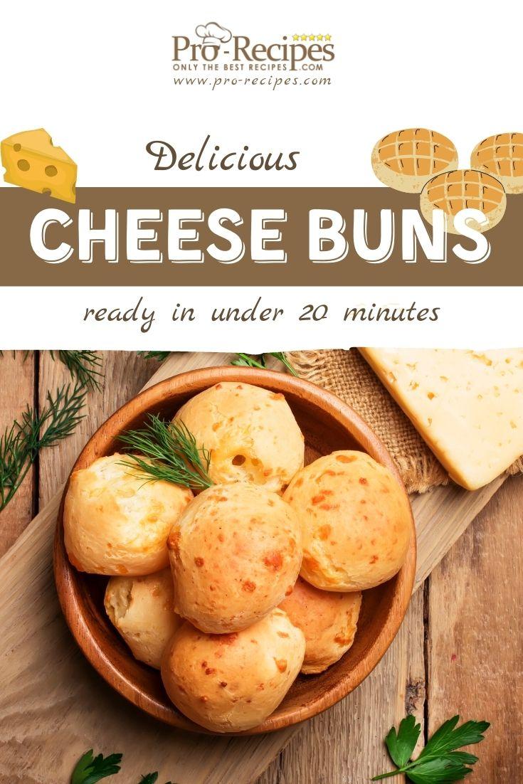 Easy Cheese Buns Recipe - Pro-Recipes.com