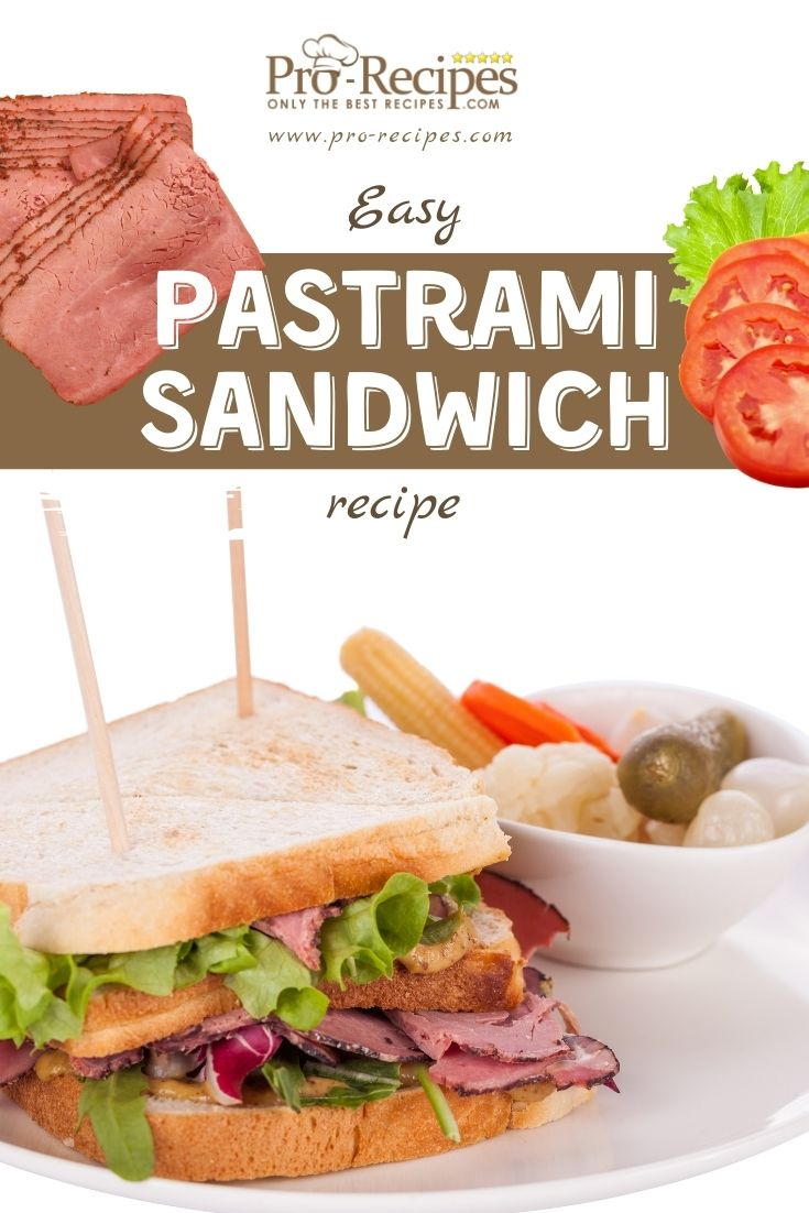 Easy Pastrami Sandwich Recipe- Pro-Recipes.com