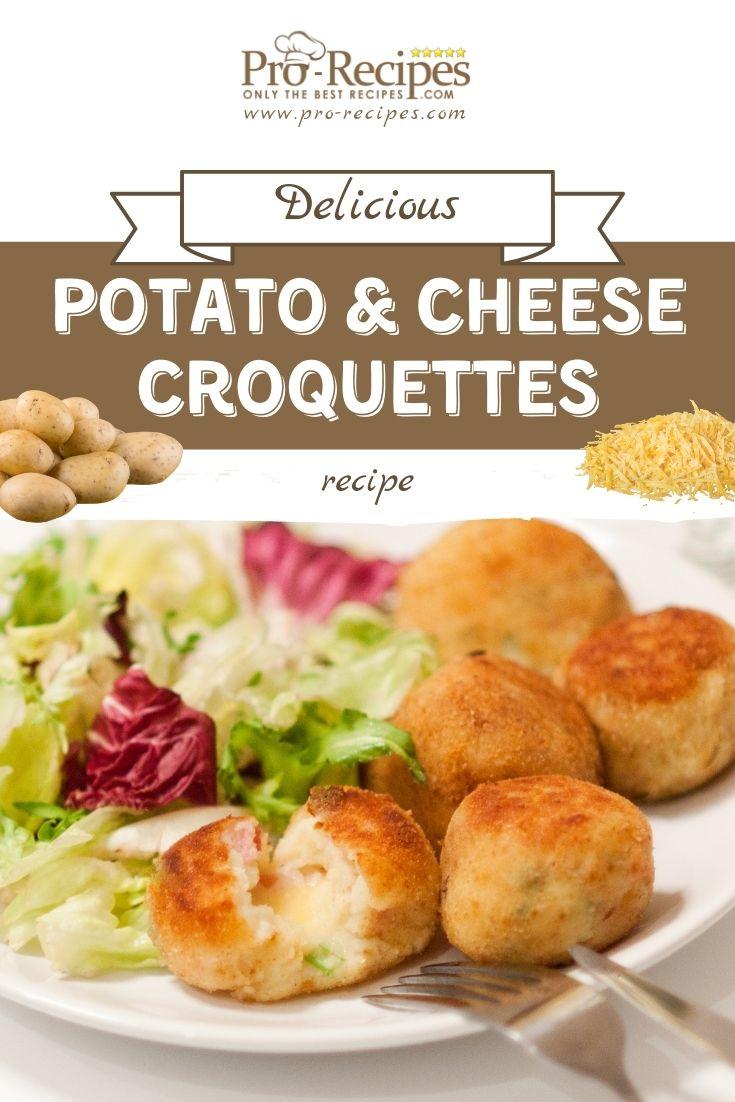 Potato and Cheese Croquettes Recipe - Pro-Recipes.com
