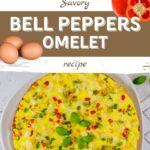Bell Pepper Omelet Recipe - Pro-Recipes.com