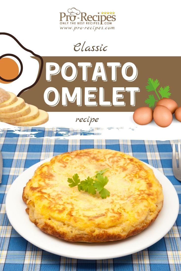 Classic Potato Omelet Recipe