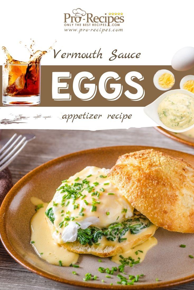 Eggs in Vermouth Sauce Recipe - Pro-Recipes.com