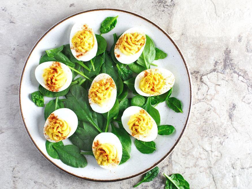 Hard Boiled Eggs in Mustard Sauce - German Recipe