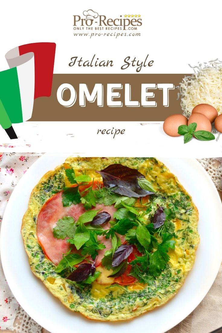 Italian Style Omelet Recipe