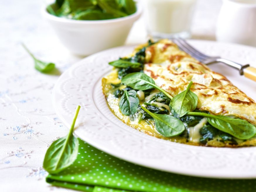 Mediterranean Style Omelet Recipe