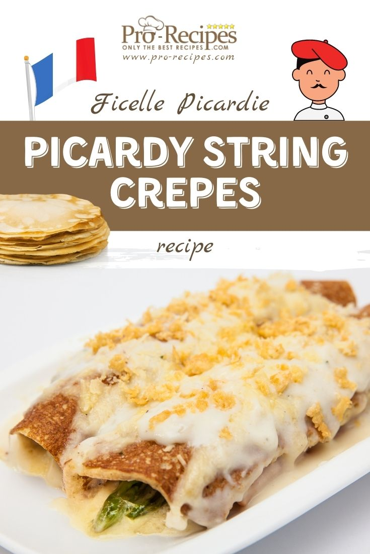 Picardy String Crepes Recipe - Ficelle Picardie - Pro-Recipes.com