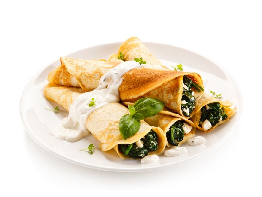Picardy String Crepes Recipe - Ficelle Picardie