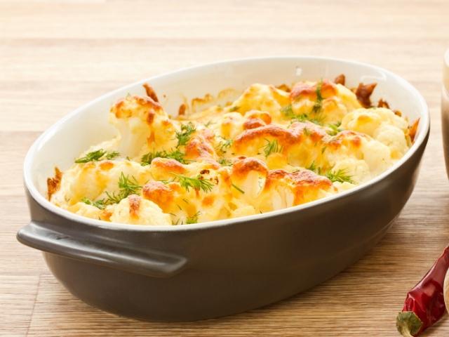Easy Baked Cauliflower Cheese Recipe