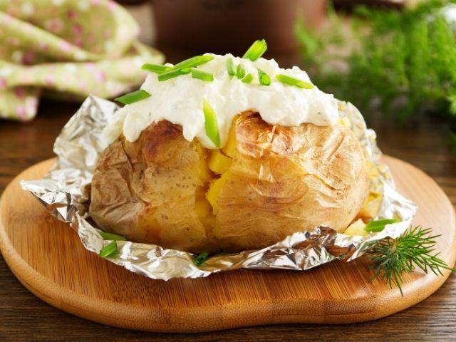 Cheese Cream Stuffed Potatoes Recipe