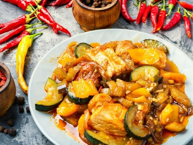 Eggplants with Hot Sauce Recipe