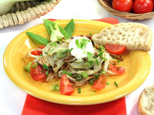 Grilled Fennel and Potatoes Salad Recipe
