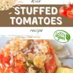 Rice Stuffed Tomatoes Recipe (VEGAN) - Pro-Recipes.com