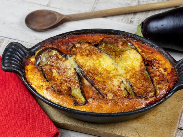 Simple Eggplant and Beans Moussaka Recipe