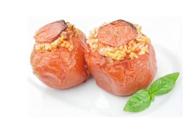 Stuffed Tomatoes Mediterranean Style