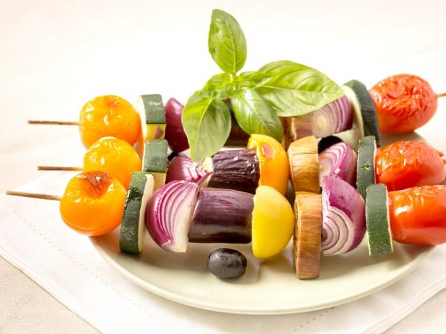 Veggie Skewers Recipe (VEGAN)