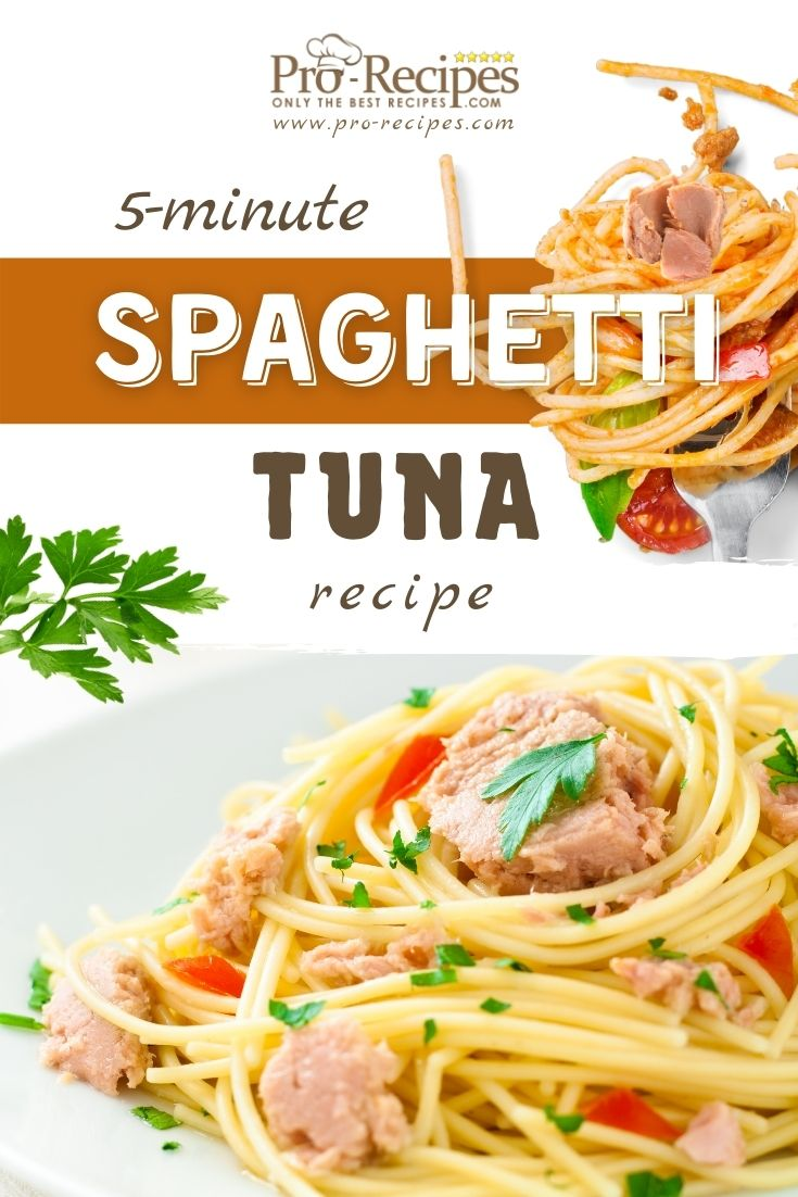 Simple Spaghetti with Tuna Recipe
