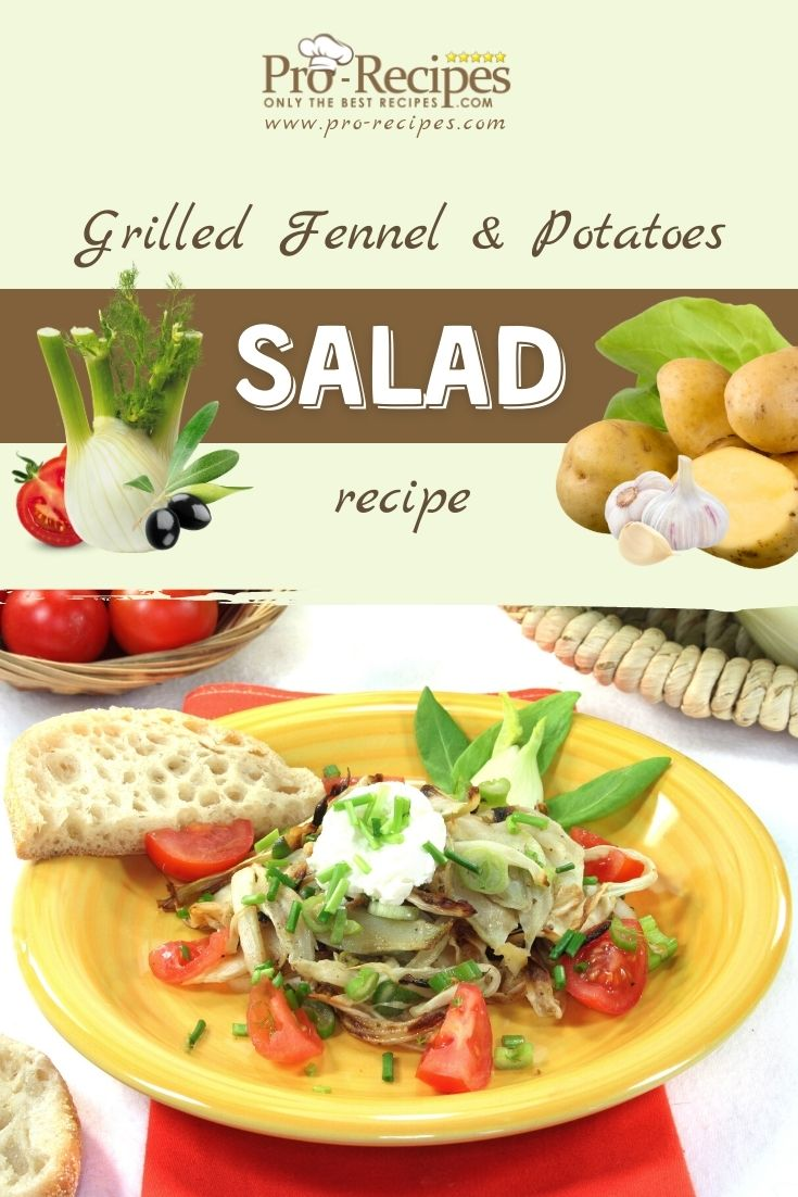 Fennel and Potatoes Salad Recipe