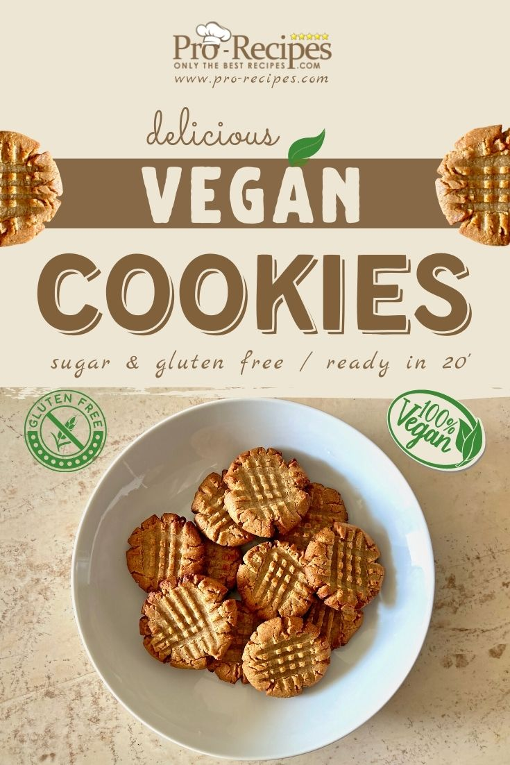 Vegan Cookies Recipe Sugar Free Gluten Free